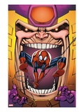 Marvel Adventures Spider-Man 23 Cover: Spider-Man and M.O.D.O.K Poster by Ale Garza