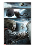 Astonishing Thor No.1: Panels with Thor Posing Posters by Mike Choi
