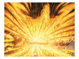 Avengers Vs. X-Men 1: Flaming Phoenix Force Kunstdrucke von John Romita Jr.