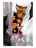 X-Factor 220: Feral Crouching Prints by Paul Davidson