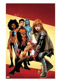 Generation Hope No.1 Cover: Hope Summers Crouching Prints by Olivier Coipel