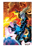 Ultimate Doom 3 Cover: Invisible Woman and Ben Grimm Posters by Bryan Hitch