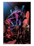 X-Men No.12: Magneto, Scarlet Witch, Mastermind, Quicksilver, Toad Prints by Dalibor Talajic