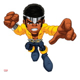Marvel Super Hero Squad: Luke Cage Jumping Poster
