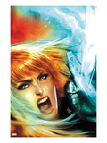 New Mutants No.17 Cover: Magik Screaming Prints by Dave Wilkins