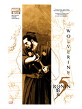 5 Ronin No.1 Cover: Wolverine with a Sword Prints by David Aja