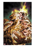 Fantastic Four No.584 Cover: Thing Transforming Prints by Alan Davis