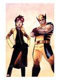 Wolverine and Jubilee No.1 Cover Posters by Olivier Coipel