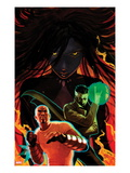 Thunderbolts 155 Cover: Luke Cage and Dr. Strange Prints by Stephane Hans