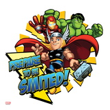 Marvel Super Hero Squad: Prepare to be Smited! Hulk, Iron Man, and Thor Posing Affiches
