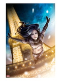 X-23 No.12: X-23 Jumping from the Eiffel Tower Posters by Sana Takeda