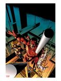 New Avengers 16 Cover: Daredevil, Iron Fist, Ms. Marvel, Spider-Man Posters by Mike Deodato Jr.