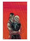 Daken: Dark Wolverine No.20 Cover: Daken Hugging Prints by Giuseppe Camuncoli