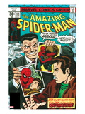 Amazing Spider-Man No.169 Cover: Spider-Man, J. Jonah Jameson, and Peter Parker Standing Poster