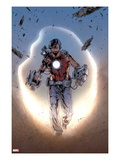 Iron Man Legacy No.8: Tony Stark Walking Print by Steve Kurth