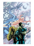 Fantastic Four 588 Cover: Invisible Woman, Mr. Fantastic, Thing,Human Torch Posters by Davis Alan