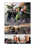 Avengers: The Childrens Crusade No.4: Panels with Quicksilver and Speed Print by Jim Cheung