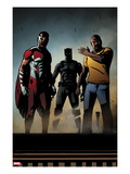 Black Panther: The Most Dangerous Man Alive No.526: Falcon, Black Panther, and Luke Cage Prints by Shawn Martinbrough