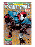 Featuring Scarlet Spider Cover: Scarlet Spider Crouching Prints