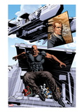New Avengers No.20: Luke Cage Jumping Poster by Mike Deodato