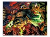 Incredible Hulks No.618: Abomination Fighting Prints by Paul Pelletier
