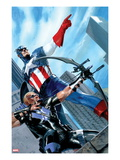 Captain America and Hawkeye No.629 Cover: Captain America and Hawkeye Posters by Gabriele DellOtto