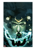Journey Into Mystery 623 Cover: Loki Print by Stephanie Hans