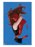 Amazing Spider-Man 641 Cover: Spider-Man and Mary Jane Watson Hugging Prints by Paolo Rivera