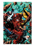 Avengers Academy No.4 Cover: Juggernaut Smashing Poster by Mike McKone