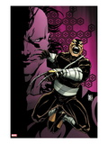 Daken: Dark Wolverine No.9.1 Cover: Daken Jumping and Screaming Prints by Giuseppe Camuncoli