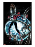 The Amazing Spider-Man 682 Cover: Spider-Man Trapped in Mechanical Tentacles Prints by Stefano Caselli