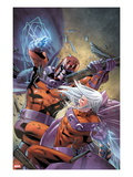 Magneto: Not A Hero 4 Cover: Magneto Fighting Prints by Clay Mann