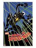 The Amazing Spider-Man No.656 Cover: Spider-Man Jumping at Night Print by Danny Miki