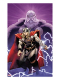 The Mighty Thor 2 Cover: Thor and Odin Prints by Olivier Coipel
