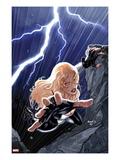 Hawkeye & Mockingbird No.5 Cover: Mockingbird Stretching Prints by Paul Renaud