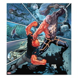 Avengers Academy No.19 Cover: Mettle Fighting the Absorbing Man Prints by Billy Tan