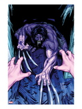 Wolverine &amp; The X-Men: Alpha &amp; Omega 2 Cover: Wolverine Crouching Prints by Mark Brooks