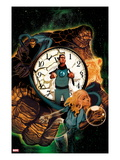 Heroic Age: One Month to Live 3 Cover: Invisible Woman, Mr. Fantastic, Thing, and Human Torch Posters by Mike Del Mundo