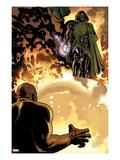New Avengers No.8: Dr. Doom is Standing Above Prints by Daniel Acuna