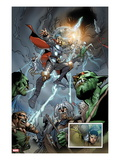 The Mighty Thor 12: Thor Flying Prints by Giuseppe Camuncoli