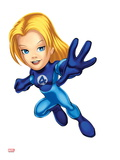 Marvel Super Hero Squad: Invisible Woman Flying Posters