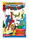 Amazing Spider-Man Annual No.1 Cover: Spider-Man, Sandman, Mysterio, Dr. Otto Octavius, and Electro Posters