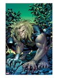 X-Men Forever 2 14 Cover: Sabretooth Crouching Posters by Tom Grummett