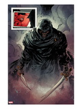 Hulk No.32: Black Frog Walking with a Sword Poster by Gabriel Hardman
