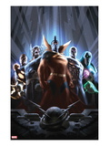 Annihilators No.2 Cover: Gladiator, Silver Surfer, Ronan the Accuser, Beta-Ray Bill, and Quasar Prints by Alex Garner