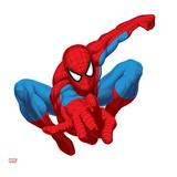 Spider Sense Spider-Man: Spring, Spider-Man Posing Art