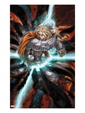 Astonishing Thor No.3: Thor with Mjonir in Lightning Prints by Mike Choi
