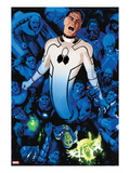 FF 3 Cover: Mr. Fantastic Screaming and Stretching Prints by Daniel Acuna
