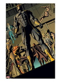 X-Men: Prelude to Schism No.3: Cyclops Standing with Others Behind Him Poster by Will Conrad