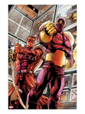 Hawkeye: Blind Spot No.1: Baron Zemo Art by Paco Diaz